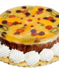 Fruit 'n jelly cake