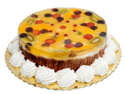 Fruit 'n jelly cake